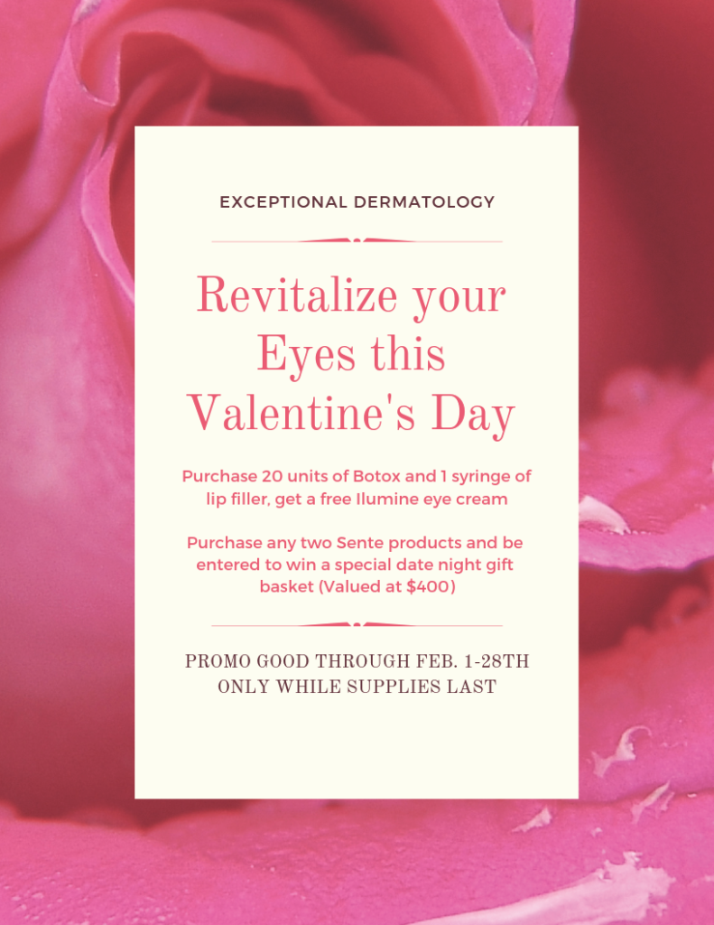 SENTE February Beauty Specials